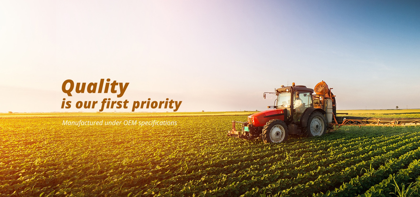 Quality is our first priority